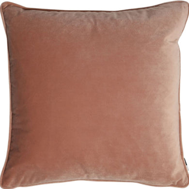 Pink Velour Cushion 50x50cm
