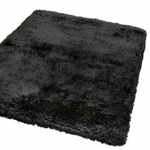 Load image into Gallery viewer, Black Plush Rug