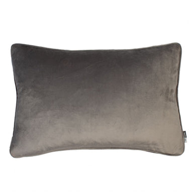 Grey Velvet Cushion 30x45cm