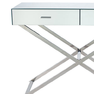 Rocca Mirrored Console Table