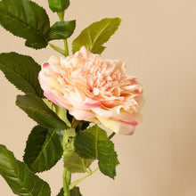 Load image into Gallery viewer, Faux Pink Rose Stem