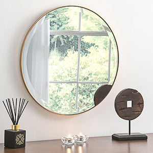 Gold Simplicity Wall Mirror