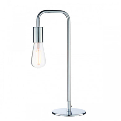 Rubio Chrome Table Lamp