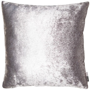 Metallic Silver Effect Cushion 45x45cm