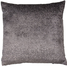 Load image into Gallery viewer, Grey Dot Cushion 56x56cm
