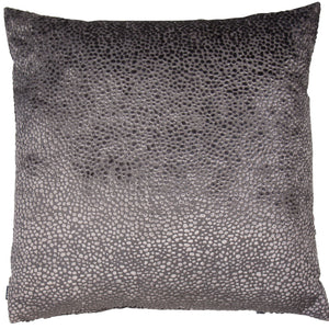 Grey Dot Cushion 56x56cm