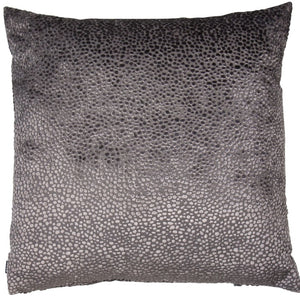 Grey Dot Cushion 43x43cm