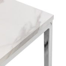 Load image into Gallery viewer, Scarlet White Marble Side Table