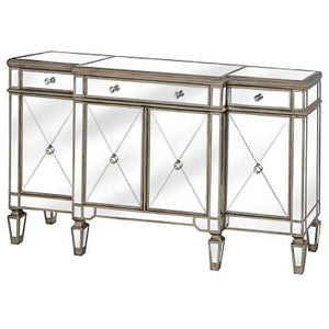 Glam Collection Mirrored Sideboard