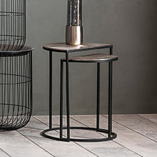 Load image into Gallery viewer, Set of 2 Side Tables