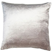 Load image into Gallery viewer, Silver Velveteen Cushion 50cm x 50cm 393