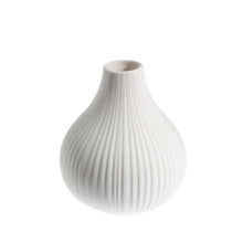 Load image into Gallery viewer, White Ceramic Bud Vase 7cm