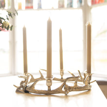 Load image into Gallery viewer, Antler Dinner Candle Holder