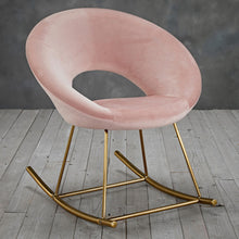 Load image into Gallery viewer, Stellar Pink Rocking Chair