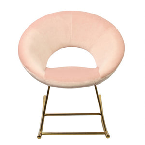Stellar Pink Rocking Chair