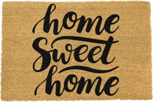 Load image into Gallery viewer, Home Sweet Home Doormat 60x40cm