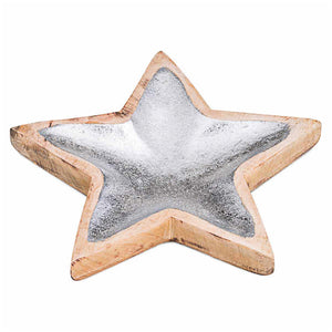 Wooden Star Bowl