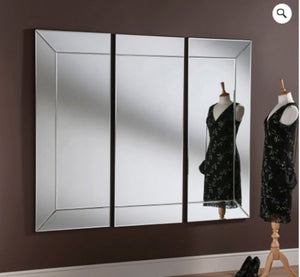 Triple Bevelled Mirror 180cm x 152cm