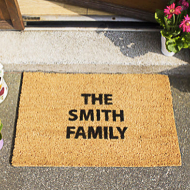 Personalised Doormat (Up to 3 lines) 60cmx40cm