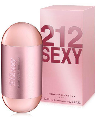 212 Sexy Carolina  Herrera  Eau de Parfum 3.4oz 100ml
