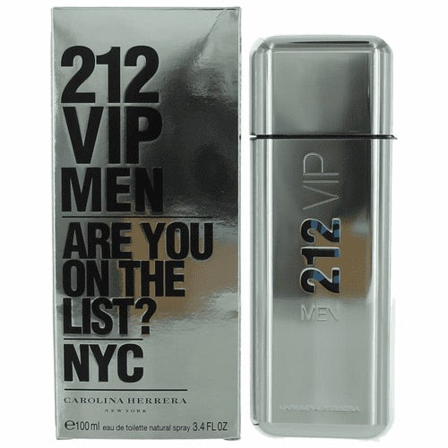 212 vip men are you on the list ? nyc carolina herrera  eau de toilette 3.4oz 100ml- alwaysspecial gifts.com