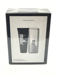 212 Vip men bath . and shower gel nyc , travel set exclusive  2pcs eau de toilette  3.4 100ml-alwaysspecialgifts.com