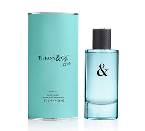 tiffany & co love for him eau de toilette 3.0oz -always special gifts.com