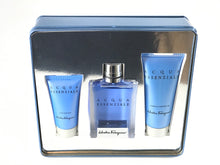 Load image into Gallery viewer, Acqua Essenziale by Salvatore Ferragamo for Men gift set 3pcs eau de toilette 3.4oz 100ml -alwaysspecialgifts.com
