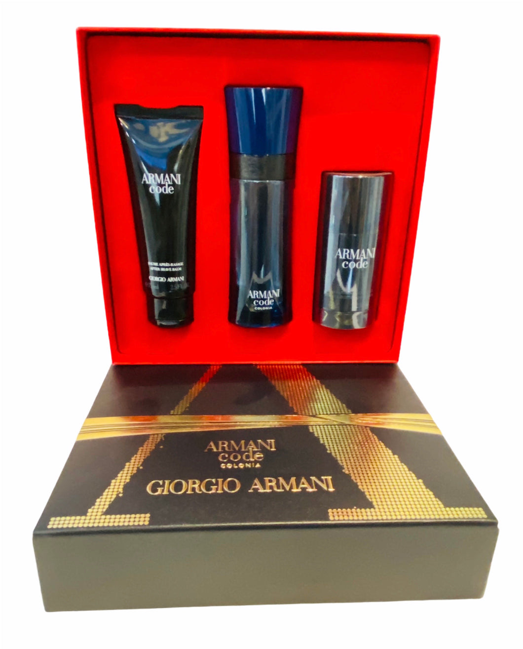 armani code colonia gift set 3 pcs eau de toilette  for men's - alwaysspecialgifts.com