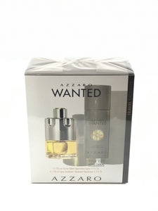 azzaro  wanted     travel  exclusive set 2 pcs   eau de toilette 3.4oz  , deodorant  5.oz  150ml -alwaysspecialgifts.com