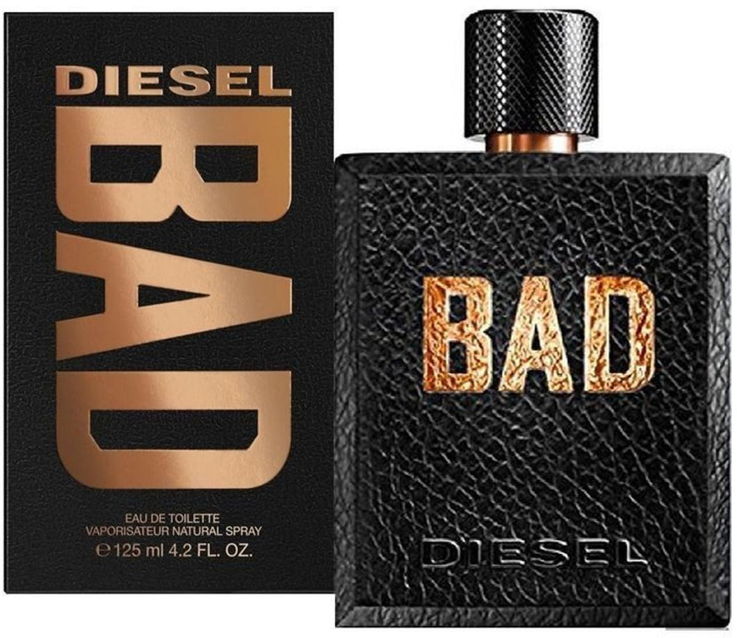 bad diesel eau de toilette 4.2oz 125ml for mens- alwaysspecialgifts.com