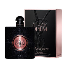 Load image into Gallery viewer, black opium yvest saint laurent eau de parfum 3oz 90 logo -alwaysspecilgifts.com