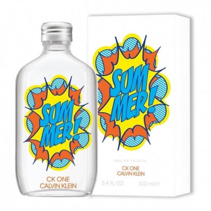 ck one summer eau de toilette 3.4oz mens cologne - alwaysspecialgifts.com