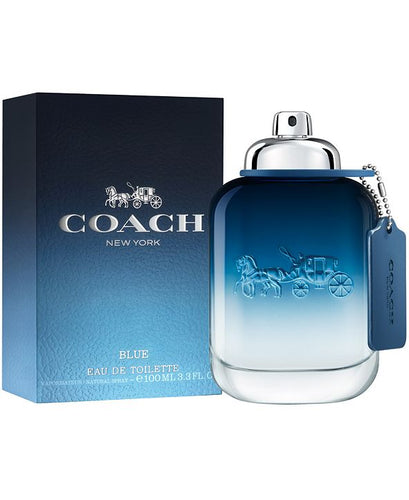 coach blue edt 3.3oz for mens - alwaysspecialgifts.com