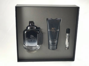 Coach New York  For Men Gift Set 3pcs Eau de Toilette 3.3oz 100ml