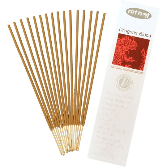 dragons blood natural incense 16 sticks - alwaysspecialgifts.com