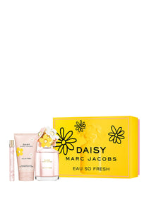 daisy marc jacobs eau so fresh gift set 3 pcs 4.2oz for womens - alwaysspecialgifts.com