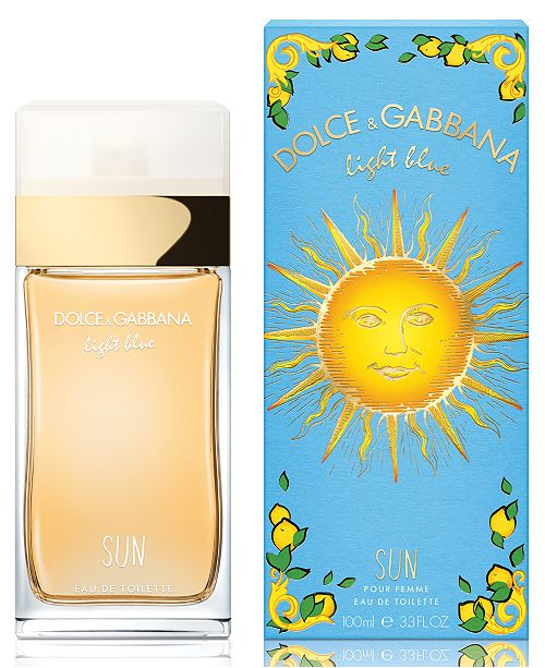 dolce & gabbana sun edt 3.3oz for womens - alwaysspecialgifts.com