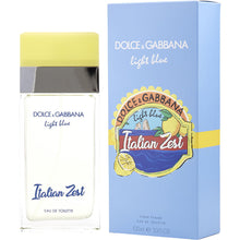 Load image into Gallery viewer, dolce & gabbana italian zest pour femme eau de toilette 3.3oz 100ml -alwaysspecialgifts.com