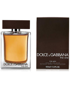 dolce & gabbana the one for men eau de toilette 3.3oz 100ml - alwaysspecialgifts.com