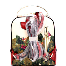 Load image into Gallery viewer, Frida Kahlo Metal Handle Backpack Black