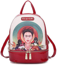 Load image into Gallery viewer, frida kahlo licensed backpack, monkey collection-alwaysspecialgifts.co