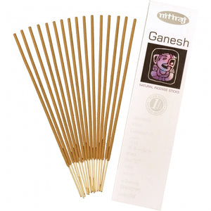 ganesh natural incense 16 sticks - alwaysspecialgifts.com