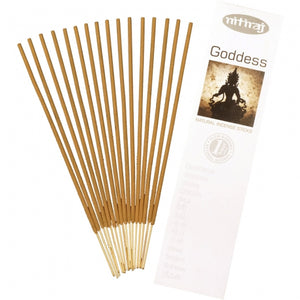 goddess natural incense 16 sticks - alwaysspecialgifts.com