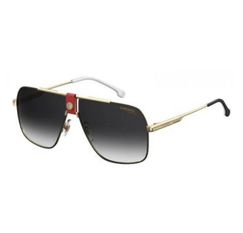 carrera 1018 sunglasses gold- red - alwaysspecialgifts.com