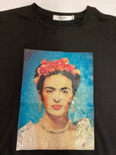 Load image into Gallery viewer, frida kahlo black sweater - alwaysspecialgifts.com