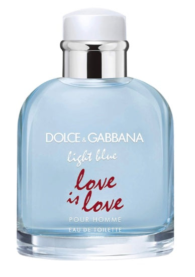 dolce & gabbana light blue love is love pour homme 4.2oz for mens - alwaysspecialgifts.com