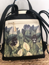 Load image into Gallery viewer, authentic frida kahlo backpack jungle monkey's small bag-alwaysspecialgifts.com