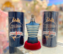 Load image into Gallery viewer, jean paul gaultier le male in the navy eau de toilette 4.2oz for mens - alwaysspecialgifts.com