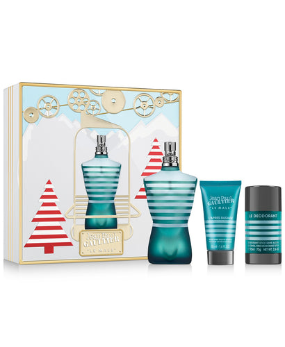 jean paul gaultier  le male gift set eau de toilette 4.2oz for mens - alwaysspecialgifts.com